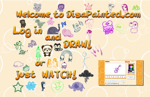 disapainted crea animazioni Disegnare una animazione online