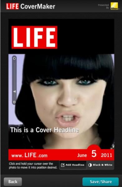 foto copertina Life La vostra foto sulle copertine delle maggiori riviste