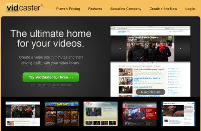 vidcaster videoblog youtube Crea un videoblog in pochi click con i vostri video su YouTube