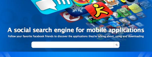 motore ricerca applicazioni apple 600x228 Scoprire le applicazioni di iTunes preferite dei nostri amici su Facebook