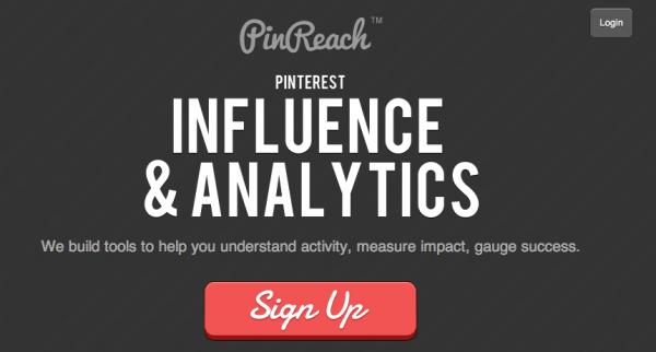 pinreach calcola influenza su pinterest 600x322 Misura la tua influenza su Pinterest con PinReach