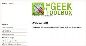 thegeektoolbox Strumenti utili online da usare gratis